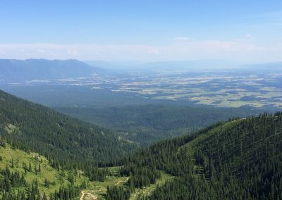 Flathead Valley from Whitefish Mountain Resort (1)