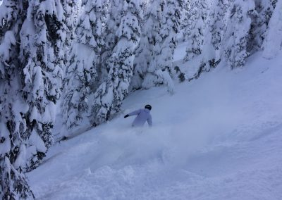 Ski photo at Whitefish Mountain Resort (1)